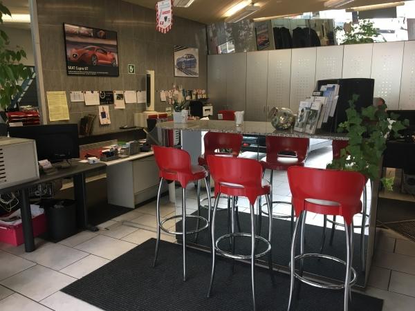 Die Werkstatt bei HACK AUTOTREFF AG, auch nach dem Kauf sind wir für Sie da!