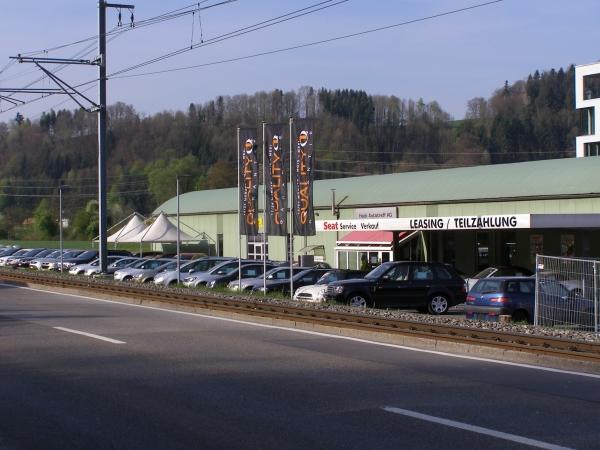 Hack Autotreff AG, Auf unserem neuen Occasionsplatz in Teufenthal stehen interessante Occasionsfahrzeuge zur Probefahrt für Sie bereit